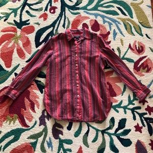 Vintage Striped Men's Button Down
